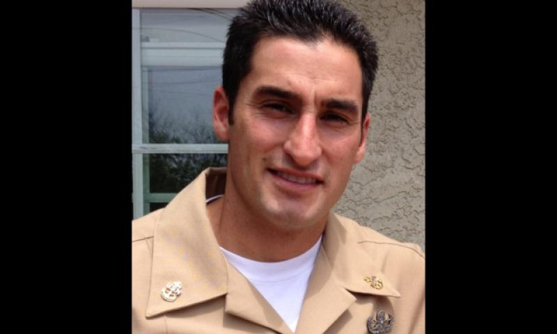Chief Petty Officer Jason C. Finan, 34, of Anaheim, California, was identified Friday as the servicemember killed by an improvised explosive device while serving in an advisory role with Iraqi coalition troops. (U.S. Navy photo)