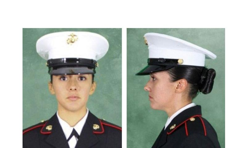 The Commandant of the Marine Corps has approved a recommendation from the service's uniform board to adopt the men's dress and service cap for women, too. (Photo by USMC)
