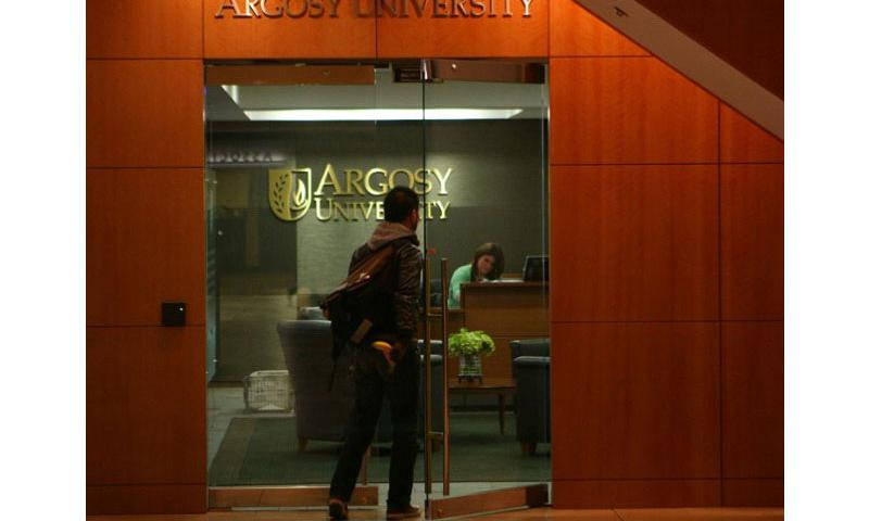 Argosy University in Chicago, seen here in a January 6, 2011 file photo, is one of the colleges owned by Education Management Corp. (E. Jason Wambsgans, Chicago Tribune/TNS)
