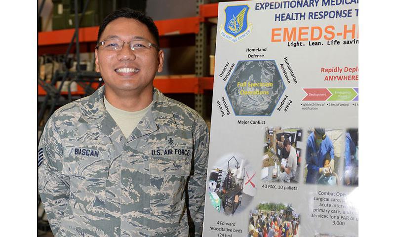 Tech. Sgt. Virgilio Biascan