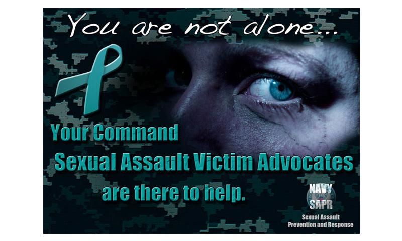 Wash. (Nov. 7, 2013) A photo illustration produced by the U.S. Navy supporting the Sexual Assault Prevention and Response (SAPR) program. Fleet-wide SAPR program training teaches Sailors effective ways to report and prevent sexual assault incidents. To become a victim advocate, Sailors participate in a SAPR victim advocate training course and are certified by the Navy SAPR program. (U.S. Navy photo Illustration by Mass Communication Specialist 2nd Class Jeffry Willadsen/Released)