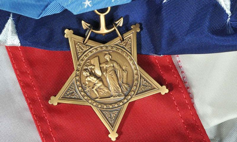 The Medal of Honor. (U.S. Navy)