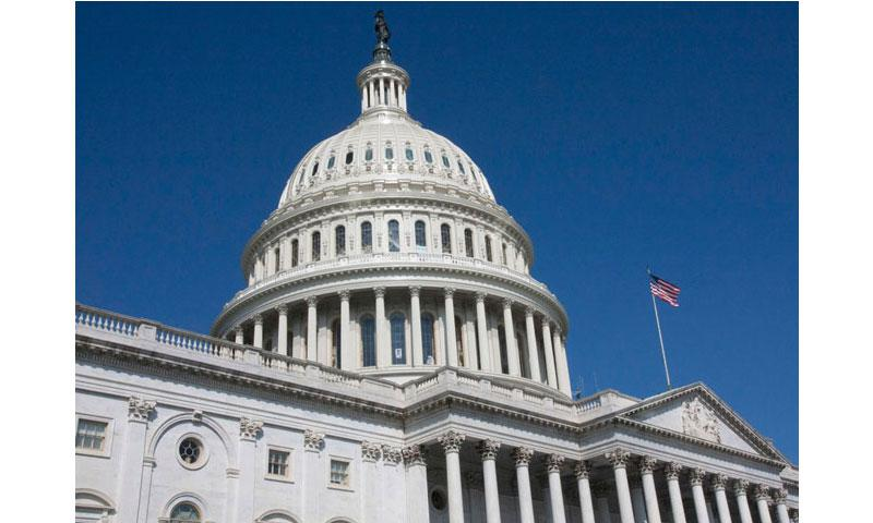 The newly-refurbished U.S. Capitol dome. (Joe Gromelski/Stars and Stripes)