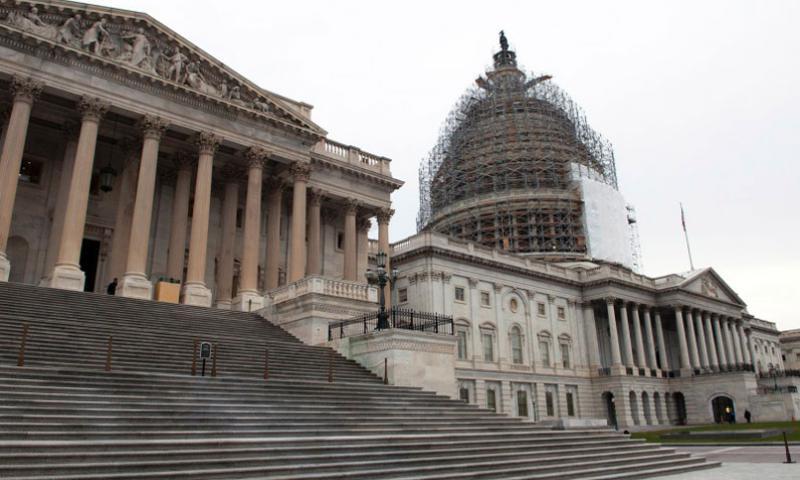 The U.S. Capitol, Dec. 4, 2014. (Joe Gromelski/Stars and Stripes)