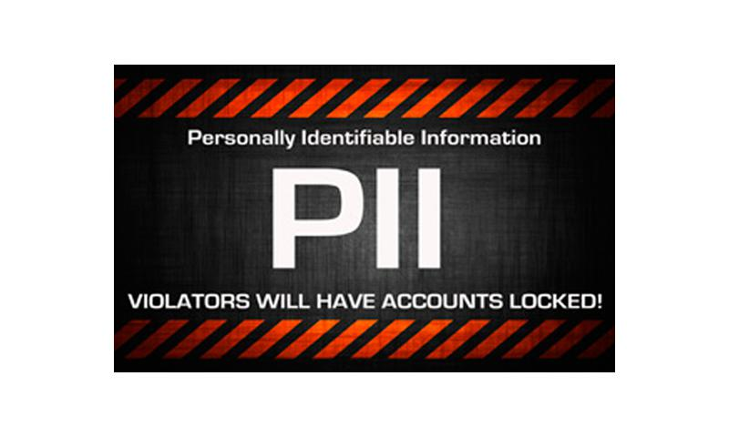 Personal identifiable information is information about an individual which identifies, links, relates, is unique to, or describes him or her, like SSN, age, military rank, civilian grade, marital status, race, salary, home or office (and any other) information which is linked or linkable to a specified individual. (Courtesy graphic)