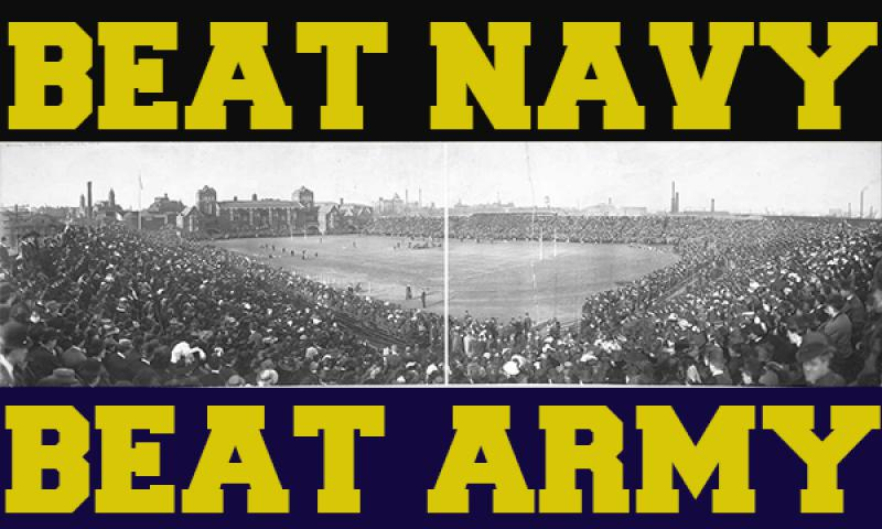 1908 Army vs Navy game at Franklin Field in Philadelphia. Photo courtesy of the Library of Congress.