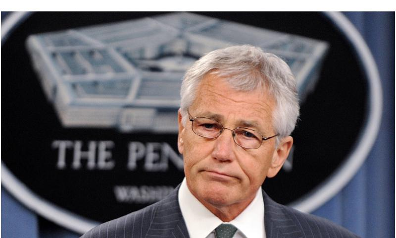 U.S. Defense Secretary Chuck Hagel at the Pentagon on May 2, 2013. (Olivier Douliery/Abaca Press/MCT) OLIVIER DOULIERY/MCT FILE PHOTO