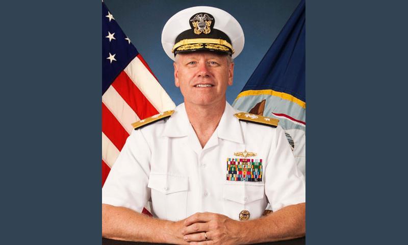Rear Adm. Richard Williams.  U.S. Navy photo