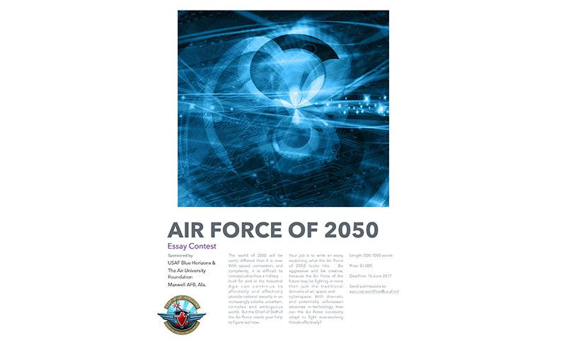 air force essay Inspiration for the first character essay contest in cap can be traced to the air  force association's 2016 national conference in washington,.