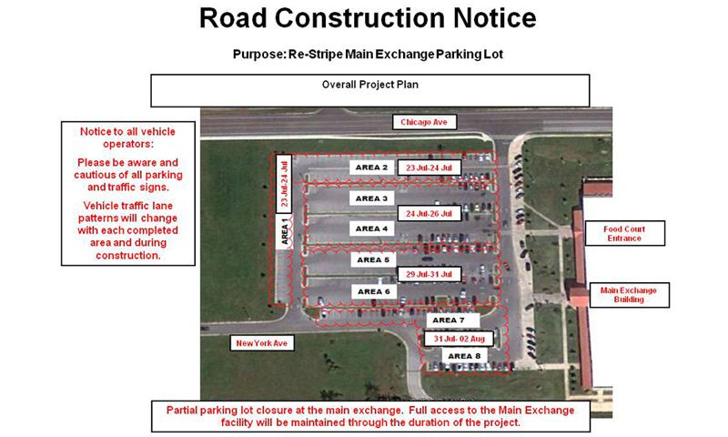 BX Parking lot project