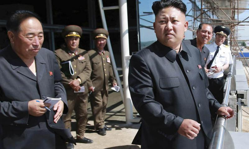 North Korean leader Kim Jong Un is seen in this undated photo released by the Korean Central News Agency. Washington and Seoul have called on the U.N. Security Council to take swift action to implement new sanctions against the North after the country's latest nuclear test. Courtesy of KCNA