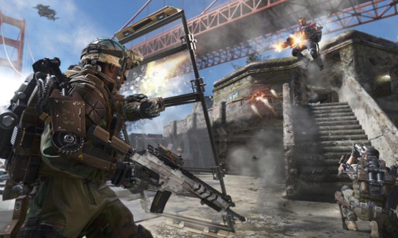A screenshot from Call of Duty: Advanced Warfare.  Activision