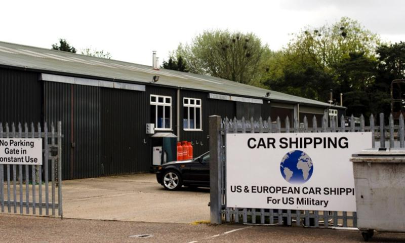 International Auto Logistics opened new vehicle processing centers, like this one in Mildenhall, England, when it took over the contract in May to ship servicemembers' vehicles. The company has faced criticism for late deliveries and not being able to provide accurate information about the location of vehicles. ADAM L. MATHIS/STARS AND STRIPES