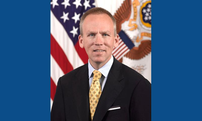 Under Secretary of the United States Army and Chief Management Officer of the Army, Brad Carson.  DOD