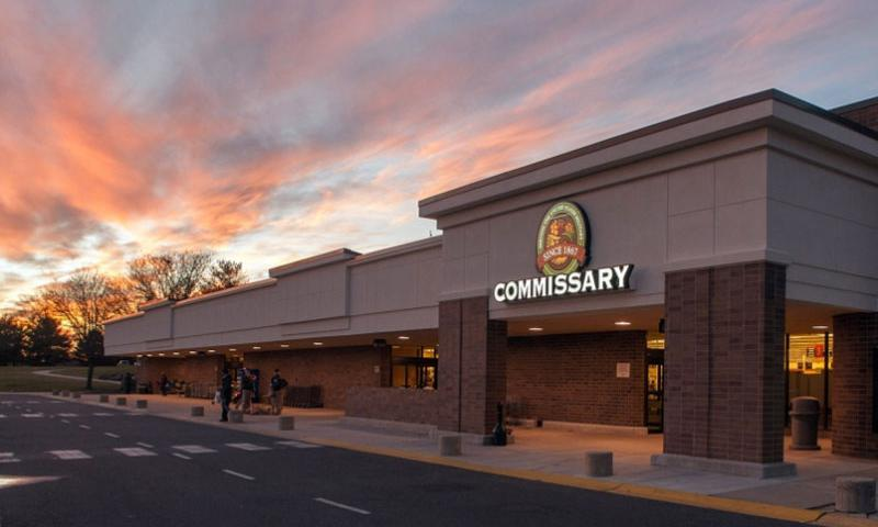 The McGuire Commissary at Joint Base McGuire-Dix-Lakehurst, N.J.    John Zoubra/DeCA