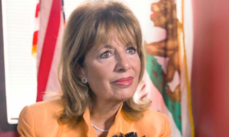Congresswoman Jackie Speier, a California Democrat on the House Armed Services Committee.  Matt Anzur, Scripps News/TNS