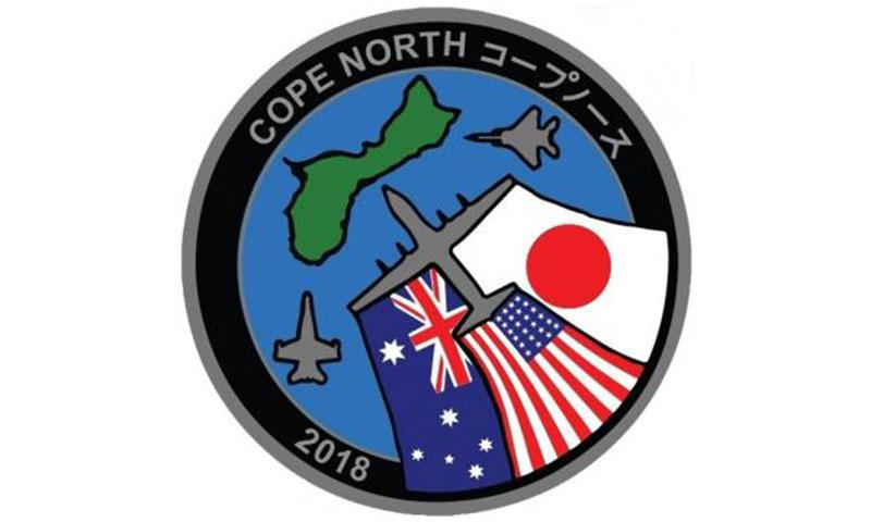 Exercise COPE NORTH 2018 is an annual Pacific Air Forces tri-lateral Field Training Exercise with participants from the U.S. Air Force, Navy, Marine Corps, Japan Air Self-Defense Force, and Royal Australian Air Force conducted primarily at Andersen Air Force Base, Guam.