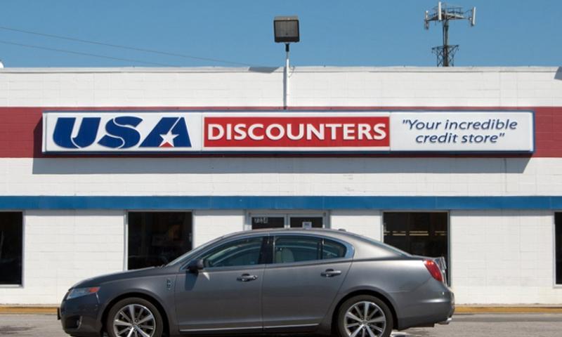 A USA Discounters store in Norfolk, Va. PAUL KIEL/PROPUBLICA