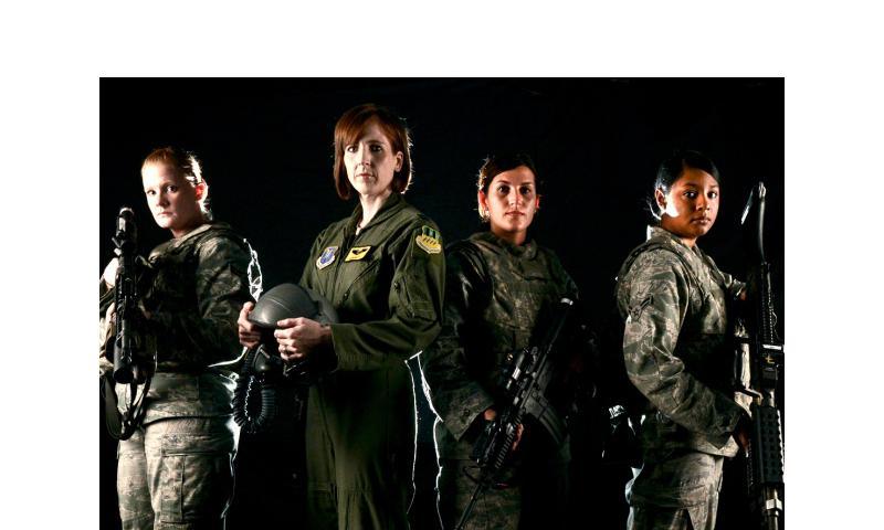 The ban on women in combat was lifted Jn. 23, 2013. Micaiah Anthony/U.S. Air Force