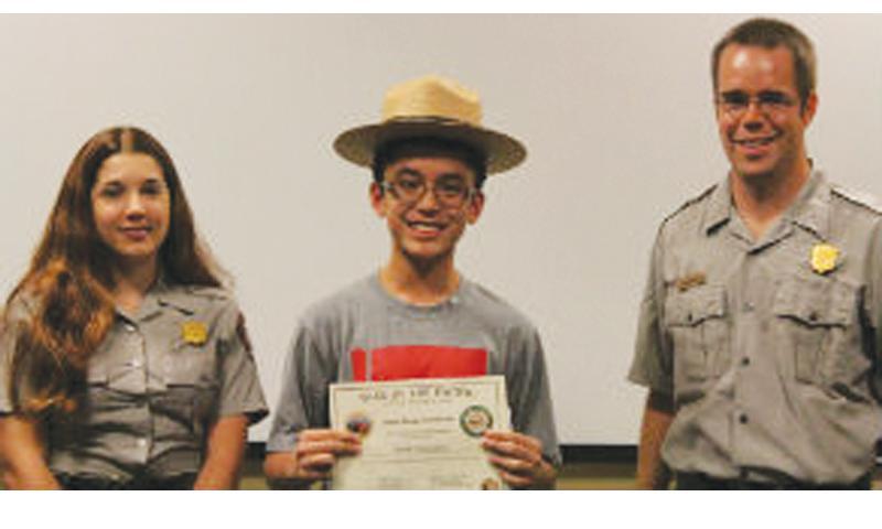 Junior Rangers are park friends, stewards, and ambassadors! NPS PHOTO