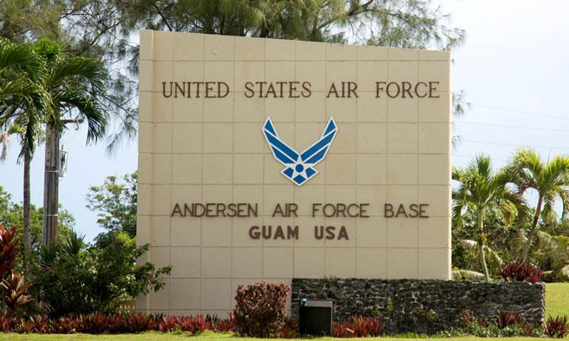 The Air Force said an airman assigned to Andersen Air Force Base, Guam, was killed in a motorcycle accident on Friday, Sept. 8, 2017. MARCUS FICHTL/STARS AND STRIPES