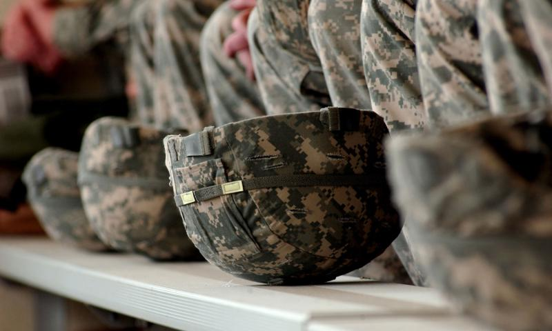 Federal inmates made thousands of defective combat helmets for the U.S. military at a prison facility that was rife with problems, a new report says. 	 Courtesy photo