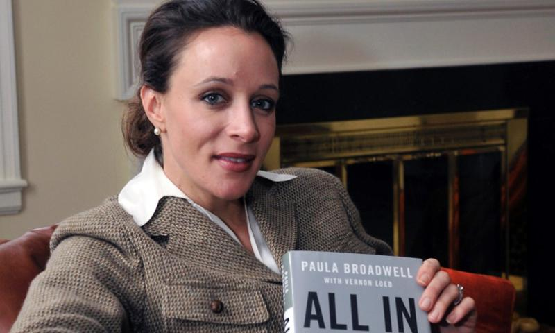 "In this Jan. 15, 2012 photo, Paula Broadwell, author of the David Petraeus biography ""All In,"" poses for photos in Charlotte, N.C.  T. Ortega Gaines/The Charlotte Observer"