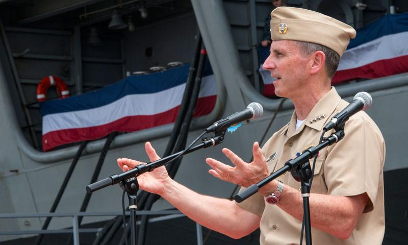 Official U.S. Navy file photo of Chief of Naval Operations (CNO) Adm. Jonathan Greenert.