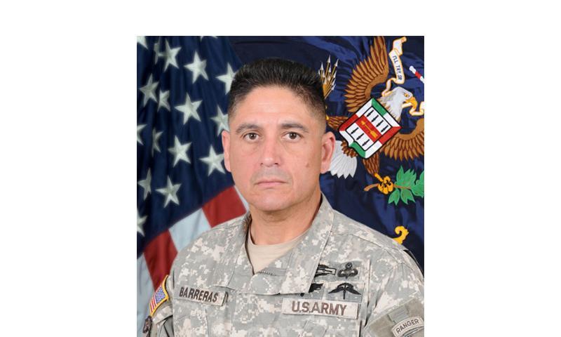 Command Sgt. Maj. Martin R. Barreras  Fort Bliss Public Affairs Office/U.S. Army