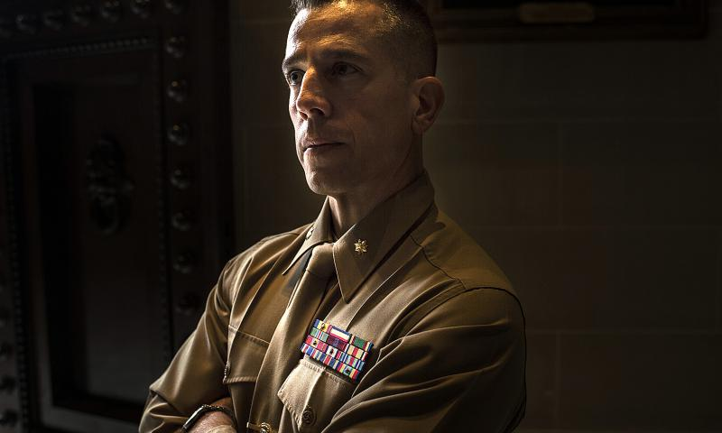 In 2014, a Marine Corps board of inquiry saw no proof that Maj. Mark Thompson had done anything wrong and concluded he should not have been found guilty. Nikki Kahn/The Washington Post