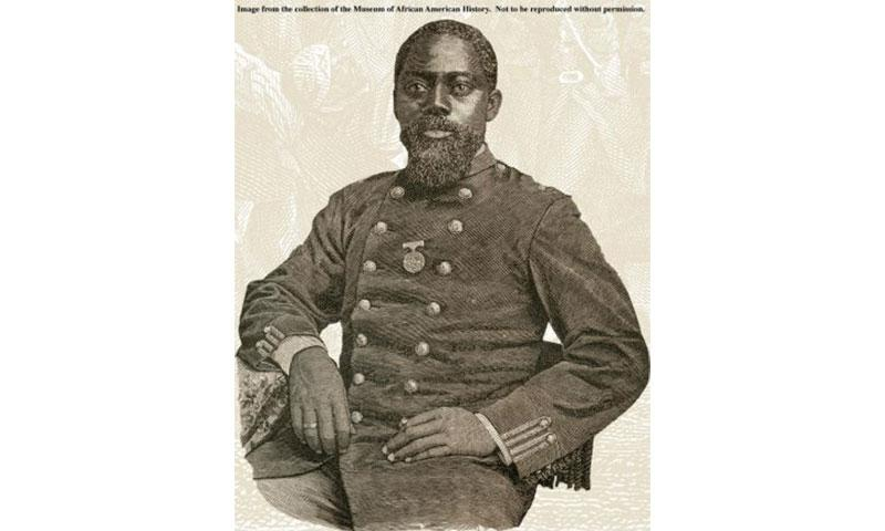 Army Sgt. William H. Carney: Photo courtesy of Museum of African American History
