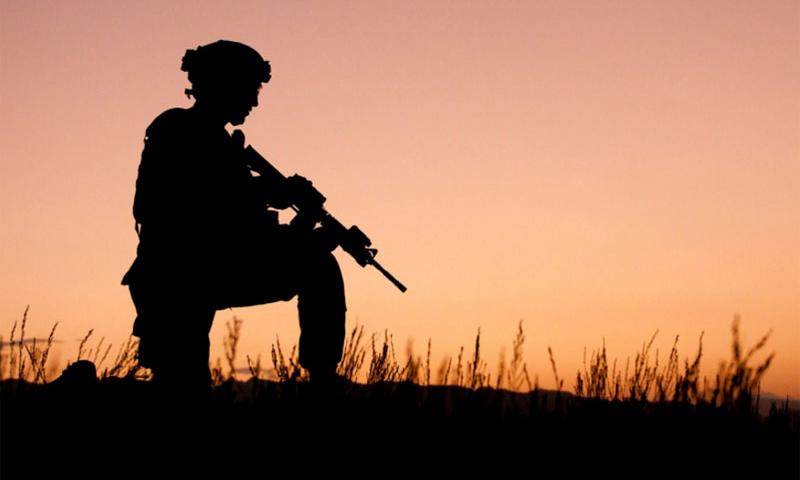 An American soldier n the Orgun-E district of Eastern Paktika, Afghanistan, in 2011. U.S. ARMY