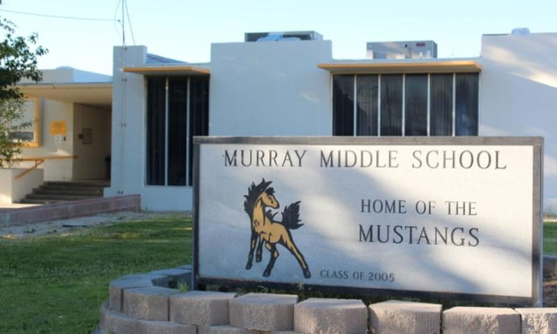 Ridgecrest, CA., Murray Middle School is one of 11 California campuses on the federal government's list of 160 schools on military installations due federal funding to make major facility repairs.   www.ssusd.org