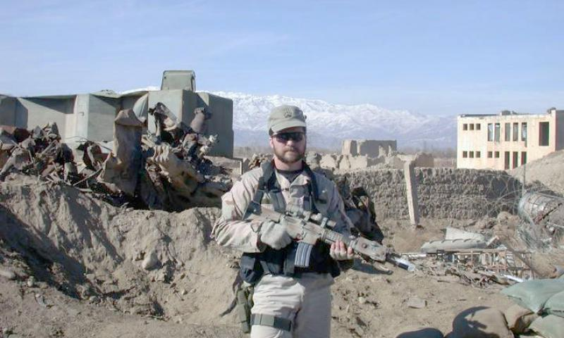 On March 4, 2002, Air Force Combat Controller John Chapman voluntarily joined a rescue team going into an al-Qaeda terrorist stronghold on Takur Ghar Mountain. Upon landing, the rescue team soon ran into enemy personnel, and Chapman killed two of them. While advancing on a machine gun nest, the team came under fire from three sides. At close range and with little cover, he exchanged fire with the enemy until dying from multiple wounds.  U.S. Air Force photo
