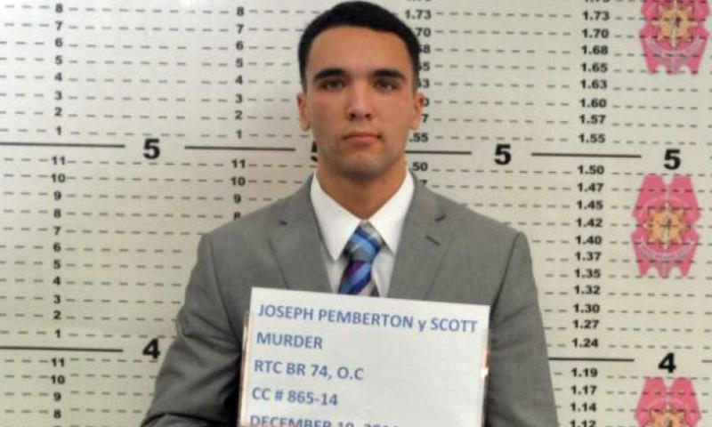U.S. Marine Pfc. Joseph Scott Pemberton is charged in the Oct. 11, 2014, killing of Jennifer Laude in the Philippines.    Olongapo City Police