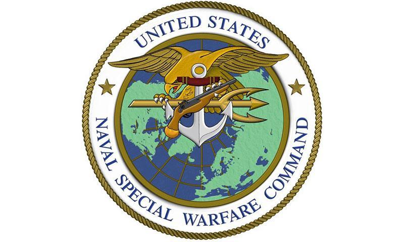The Navy Special Warfare Command insignia. U.S. NAVY PHOTO