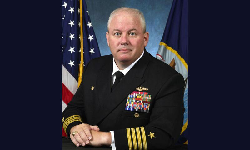 Capt. David Adams  Courtesy U.S. Navy
