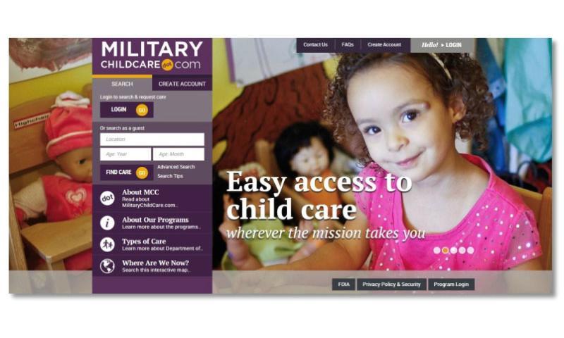 MilitaryChildCare.com   MILITARYCHILDCARE.COM