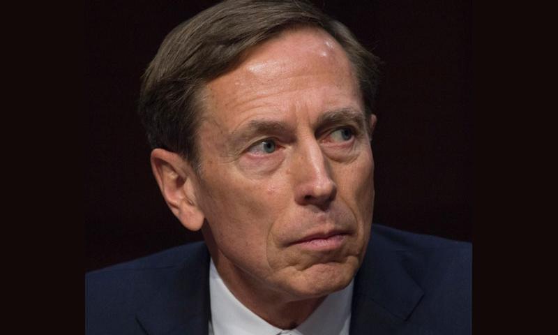 Retired Gen. David Petraeus at a Senate hearing in September, 2015.  Joe Gromelski/Stars and Stripes