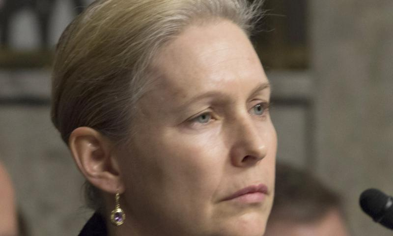 Sen. Kirsten Gillibrand, D-N.Y. Stars and Stripes