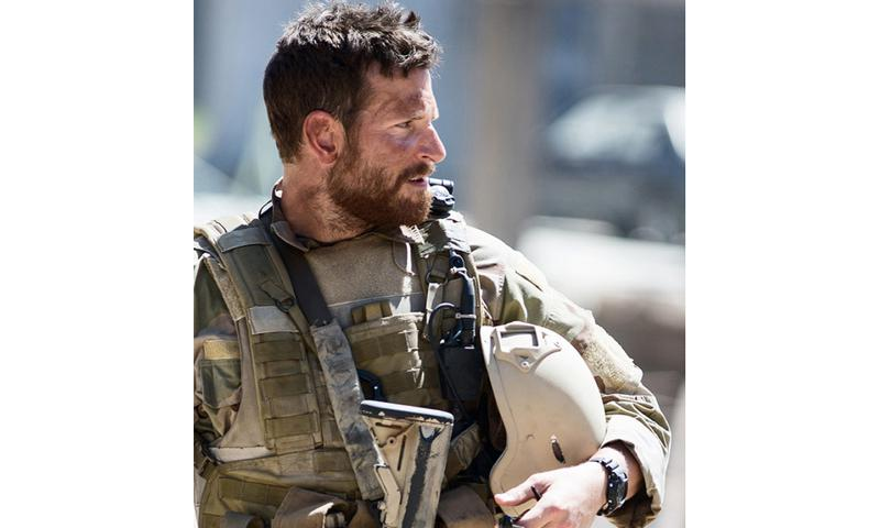 "Bradley Cooper as Navy SEAL Chris Kyle in ""American Sniper."" COURTESY OF WARNER BROS. PICTURES"