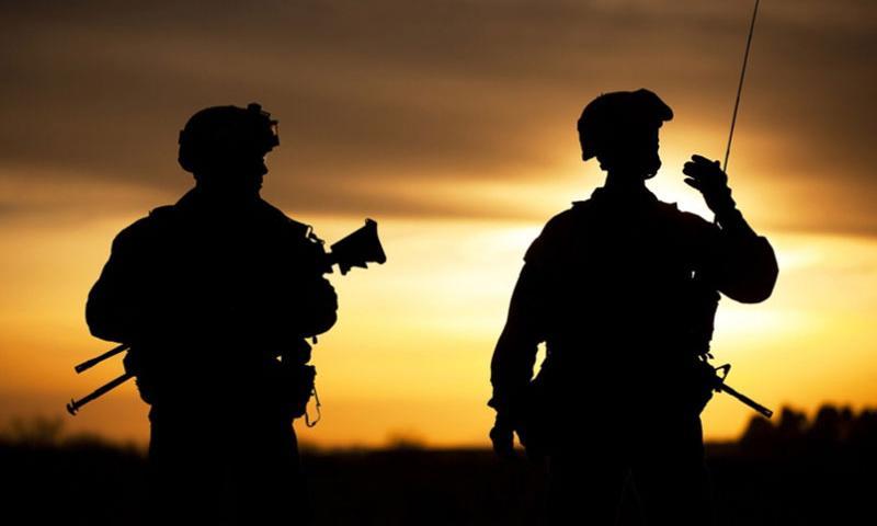 U.S. servicemembers in Afghanistan in 2012.  DOD
