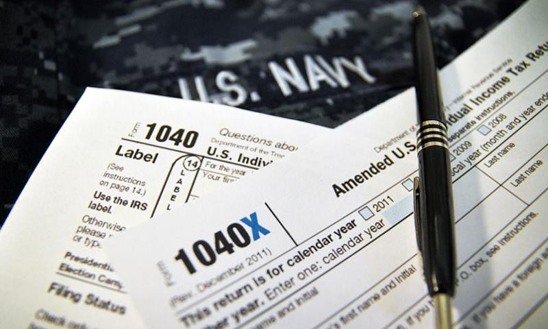 The military has a Volunteer Income Tax Assistance/Electronic Filing (VITA/ELF) program that helps active-duty servicemembers, their dependents, Department of Defense personnel serving with military units, military retirees and others in filling out their taxes at no cost.    Patrick Gordon/U.S. Navy