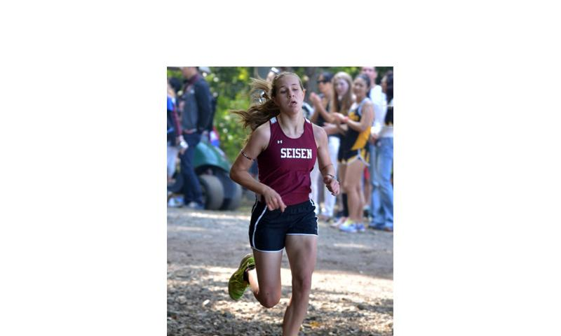 Seisen International's Brittani Shappell has posted the fastest 3,305-meter and 4,800-meter times among entrants in next week's Far East meet. Her chief competition may come from Kadena's Wren Renquist, who possesses the fastest 5,000-meter time in the Pacific this season.  Dave Ornauer/Stars and Stripes