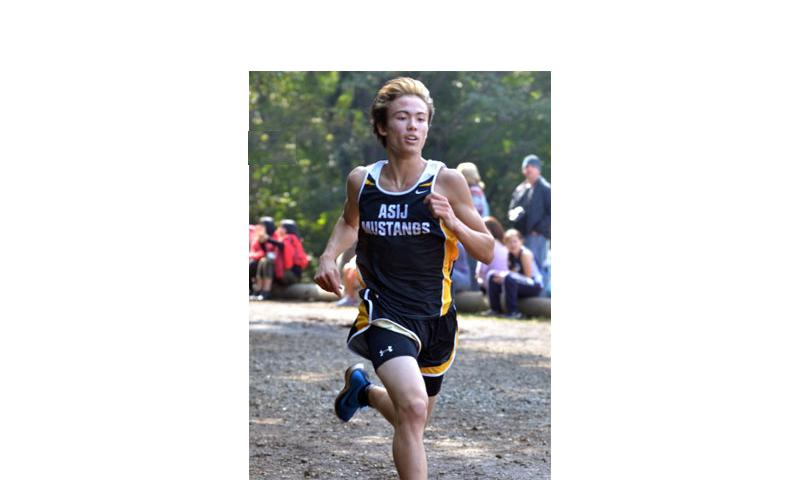 Evan Yukevich of American School in Japan says he's hoping his senior cross-country season will be an exciting one, made all the better with a healthy Daniel Galvin of Yokota back on the course. Dave Ornauer/Stars and Stripes