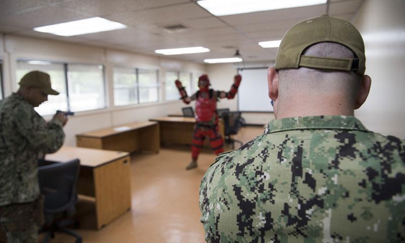U.S. Navy Combat Camera photo by Information Systems Technician 1st Class Gregory L. Parker