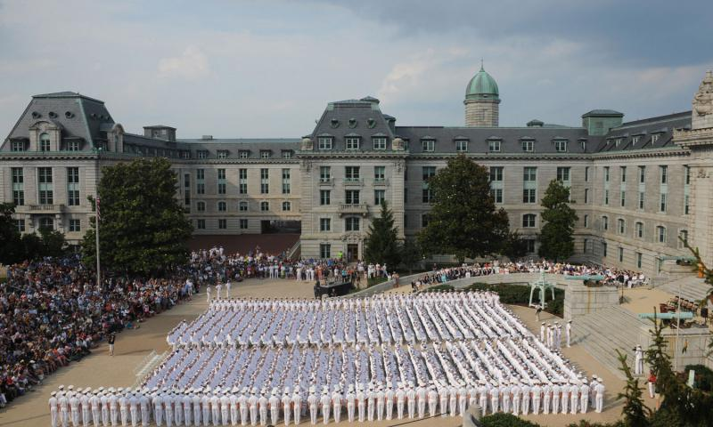 US Naval Academy Nathan Wilkes/U.S. Navy photo