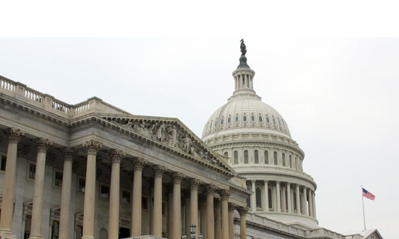 The House of Representatives side of the U.S. Capitol.  Stars and Stripes file photo