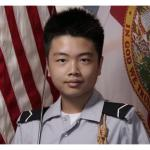 Peter Wang, who was killed in the Stoneman Douglas high school shooting in Florida, has been awarded the JOTC Medal of Heroism for giving his life to help other classmates to escape. (Photo Credit: Courtesy photo)