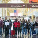 104 high school student delegates — two from each state, the District of Columbia, and DoDEA — arrive in Washington, D.C., for the 56th annual U.S. Senate Youth Program, March 3-10, 2018. (Photo by Jakub Mosur and Erin Lubin)
